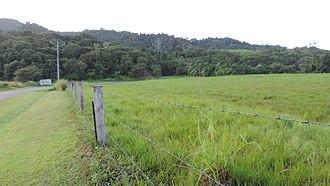 Eubenangee, Queensland - Looking east along Cartwright Road, Eubenangee, 2018