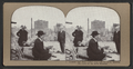 Looking east from corner Pine and Stockton, showing the ruins of the Mills Building, from Robert N. Dennis collection of stereoscopic views.png