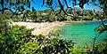 Looking over Shelly Beach and Cabbage Tree Bay in Sydney.jpg