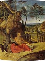 Saint Jerome penitent