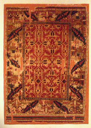Lotto carpet - Lotto Carpet, Uşak, 17th century. Turkish and Islamic Arts Museum.