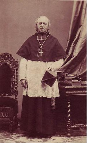 Louis Jacques Maurice de Bonald - Photograph of Cardinal Bonald.