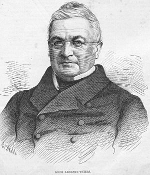 First cabinet of Adolphe Thiers - Adolphe Thiers