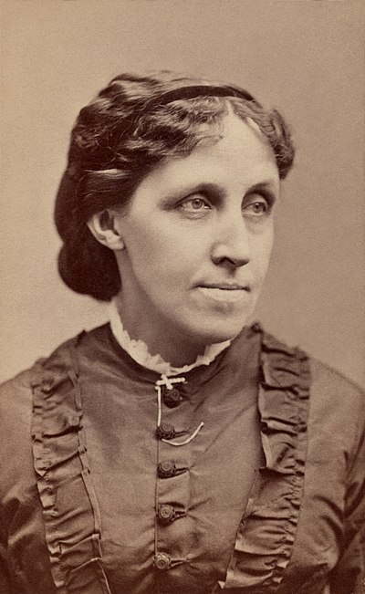 Picture of an author: Louisa May Alcott