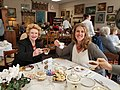 "Loved joining Jennifer at Just Delicious Scones in Roseville for a ""spot"" of tea. What a treat! (40124413922).jpg"