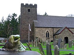 Lower Machen Churchyard - geograph.org.uk - 307147.jpg