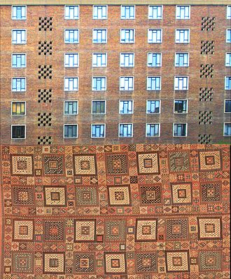 Spa Green Estate - bedroom façade and Verneh kilim