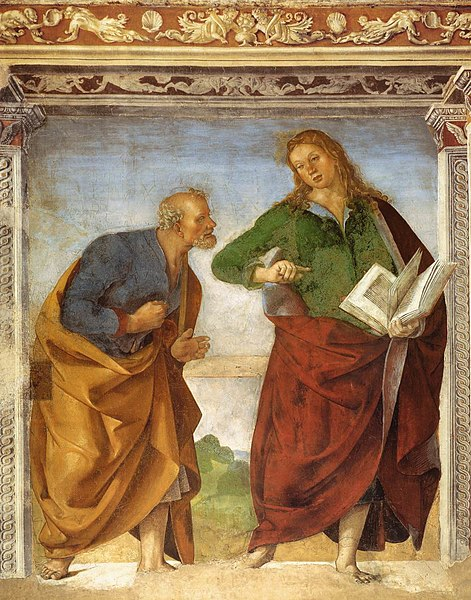 File:Luca Signorelli - The Apostles Peter and John the Evangelist - WGA21268.jpg