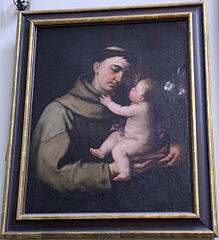 St. Anthony of Padua and the Child