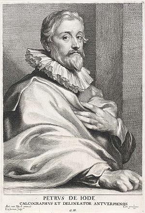 Pieter de Jode I - Pieter de Jode I after Anthony van Dyck