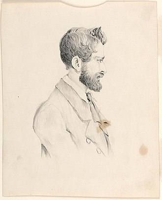 Ludwig Leichhardt - Portrait of Ludwig Leichhardt, 28 May 1846, Isobel Fox