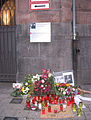 Luisen-Gymnasium Düsseldorf, zum Gedenken an Judith Ehnes, Oktober 2013 (1).jpg