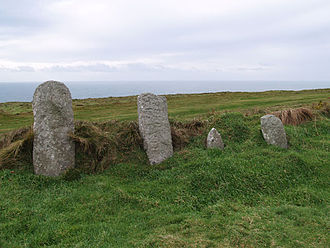 Lundy - Inscribed stones