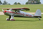 Luscombe 8E Silvaire Deluxe 'G-AKUH' (40911320005).jpg