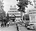 Mátraháza 1950, SZOT üdülő (ma- Pagoda Pihenő Panzió). Fortepan 1995.jpg