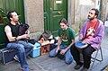 Música na rúa, Santiago de Compostela. Galiza.jpg