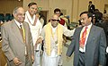 M. Karunanidhi, the Union Minister for Shipping, Road Transport and Highways, Shri T.R.Baalu, the Union Minister for Communications and Information Technology.jpg