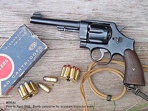 M1917 revolver - Image: M1917 revolver