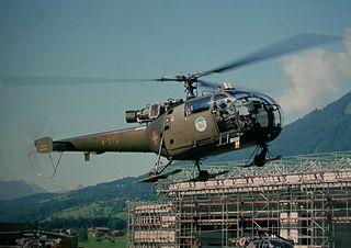 Militär-Helikopter-Rettungsdienst