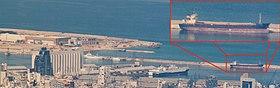 MV Rhosus ammaré dans le port de Beyrouth