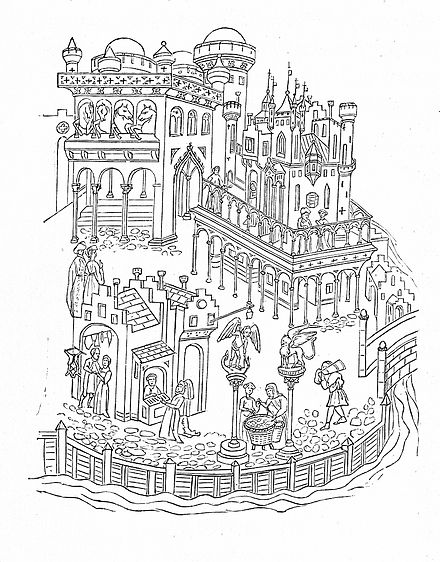 Drawing of the Doge's Palace, late 14th century MZK 001 Nr 09 Eine Ansicht des Dogenpalastes - Fig. 01 Ende 14. Jhdt.jpg