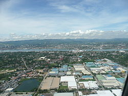 Aerial View of MEPZ II in urban Lapu-Lapu