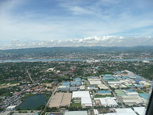 Mactan - Mactan from above