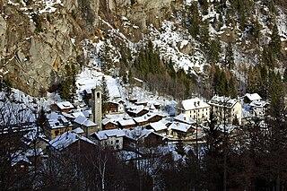 Macugnaga Comune in Piedmont, Italy