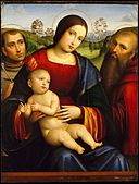 Madonna and Child with Saints Francis and Jerome MET DT3067.jpg