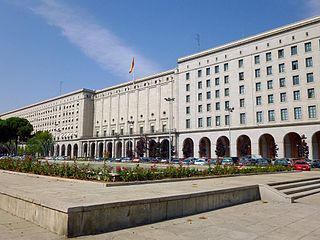 government ministry in Spain