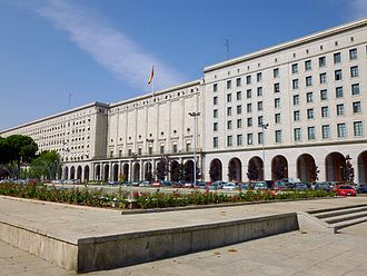 Ministry of Public Works and Transport (Spain) - Headquarters of the Ministry of Public Works