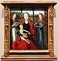 Maestro della leggenda di santa lucia, madonna col bambino e angeli musicanti, 1500 ca.jpg