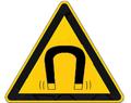 Magnetic field hazard symbol.png