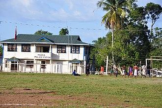 Mahdia, Guyana - Image: Mahdia Police Station panoramio