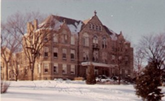 Maranatha Baptist University - Old Main in winter