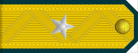 Major General rank insignia (North Korean police).png