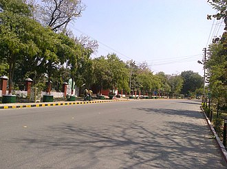 Meerut - Mall Road in Meerut Cantonment