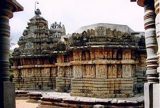 Mallikarjuna Temple, Basaralu - Mallikarjuna temple (1234 A.D.) at Basaralu in Mandya district