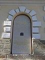 Malopolska Kalwaria Zebrzydowska Zespół klasztorny bernardynów tablica UNESCO 01 A-739.JPG