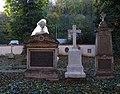 Malostranský hřbitov, náhrobky Dittrich, Borecký.jpg