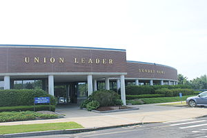 New Hampshire Union Leader - New Hampshire Union Leader building at 100 William Loeb Drive in Manchester, New Hampshire
