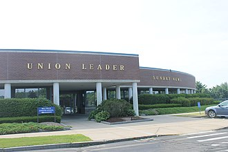 New Hampshire Union Leader - Image: Manchester Union Leader building IMG 2758