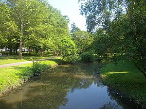 Manhasset, New York - Manhasset Valley Park, formerly a minor harbor