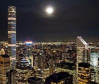 Manhattan at night north of Rockefeller Center (11226).jpg