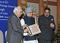 Manmohan Singh releasing the stamp on the occasion of the golden jubilee of IIFT, in New Delhi. The Union Minister for Commerce & Industry.jpg