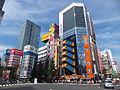Mansei-bashi Crossing, 21 July 2013.jpg