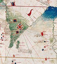 1502 Cantino mappa