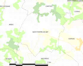 Map commune FR insee code 33464.png