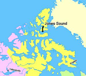 Jones Sound - Jones Sound, Nunavut, Canada.