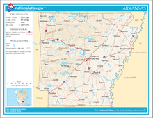 An enlargeable map of the state of Arkansas Map of Arkansas NA.png